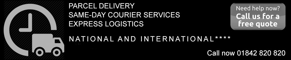 Parcel delivery and same day courier services