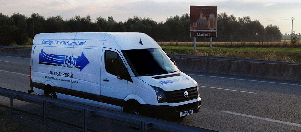 East Anglia Swift Transport Ltd Van